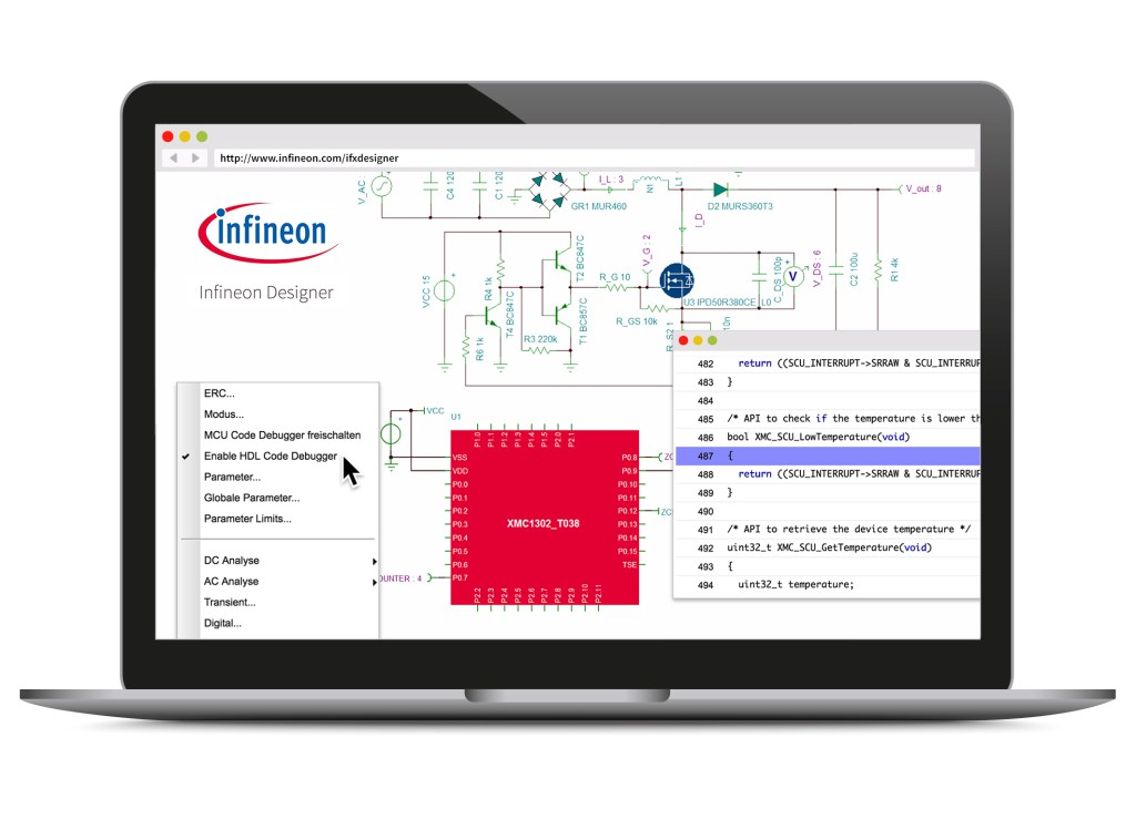 Infineon launches what it claims is the first-of-its-kind online engineering prototype design application