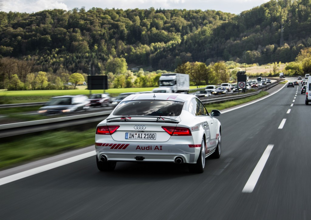 Audi to test new autonomous driving technology