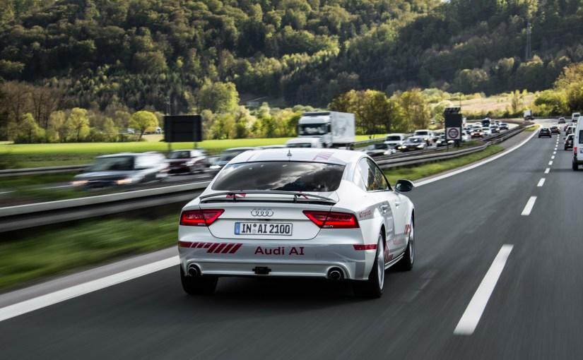 Audi to test new autonomous driving technology