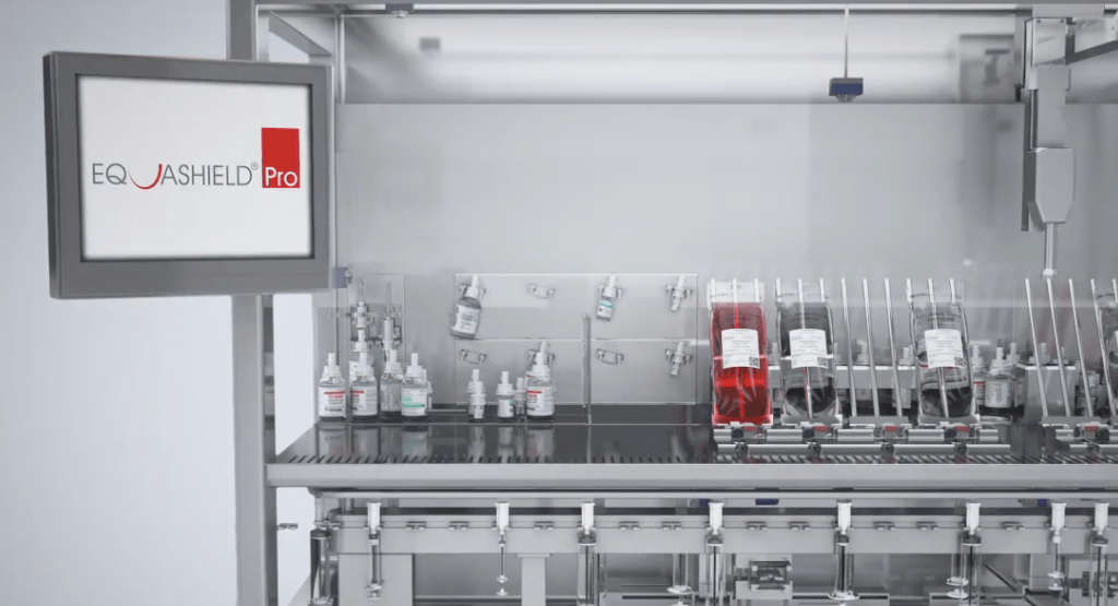 Equashield claims 'world first' with new drug robot