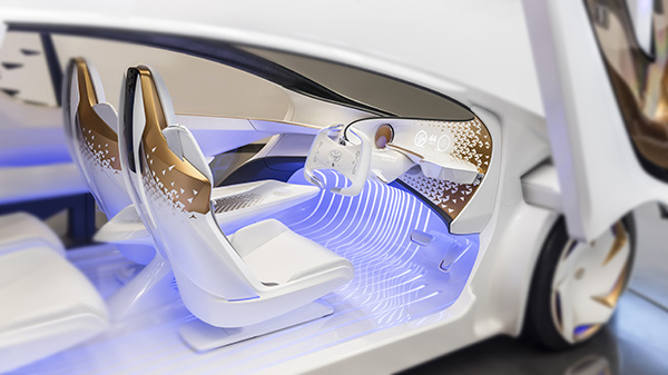 Toyota shows off futuristic Concept-i vehicle featuring AI that learns from driver