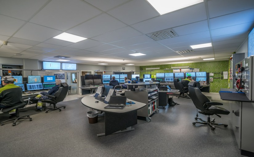 Command and control rooms: Navigating the internet of things