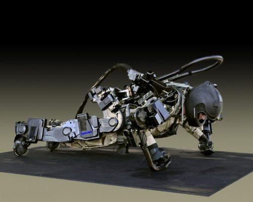 Sarcos Robotics exoskeleton