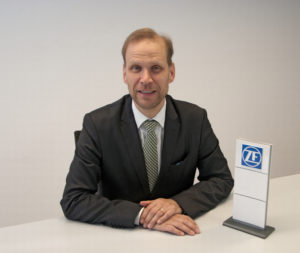 Christoph Kainzbauer, head of ZF's industrial drives business unit