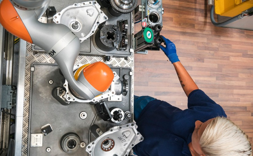 BMW shows off its smart factory technologies at its plants worldwide