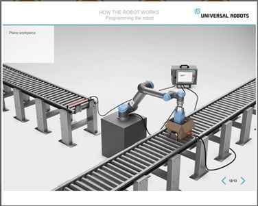 universal robots training
