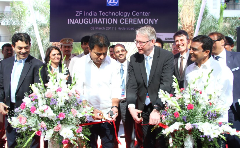 ZF opens new technology centre in India