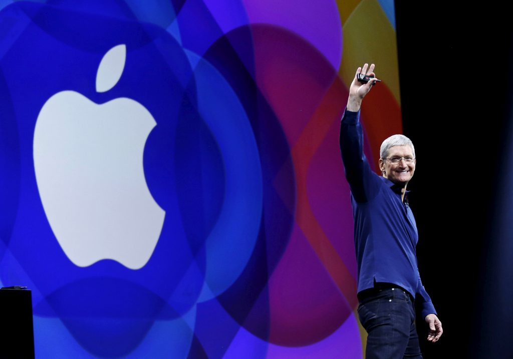 Apple CEO Tim Cook. Reuters / Robert Galbraith / File Photo