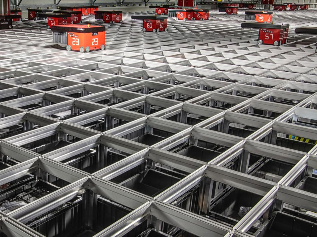 swisslog warehouse and distribution