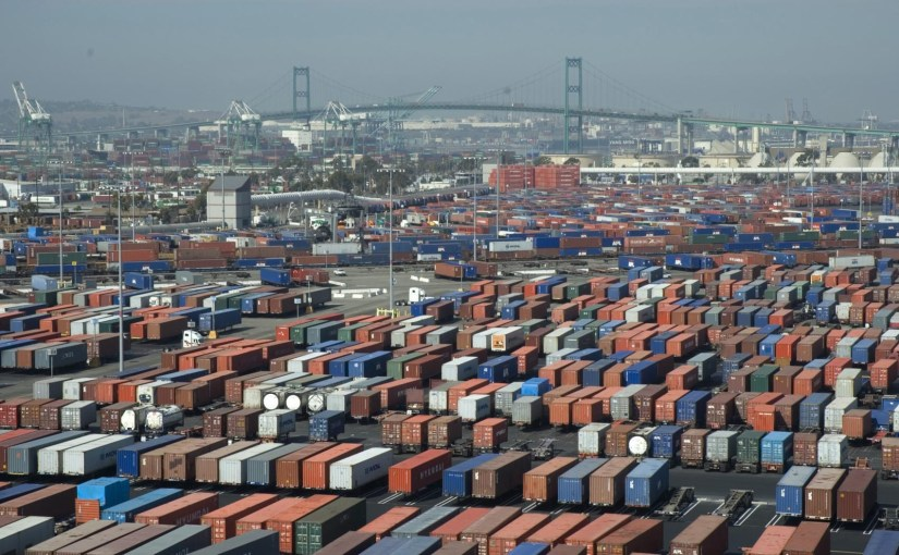 Port of Los Angeles, in the US
