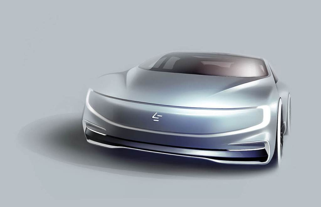 LeEco electric car