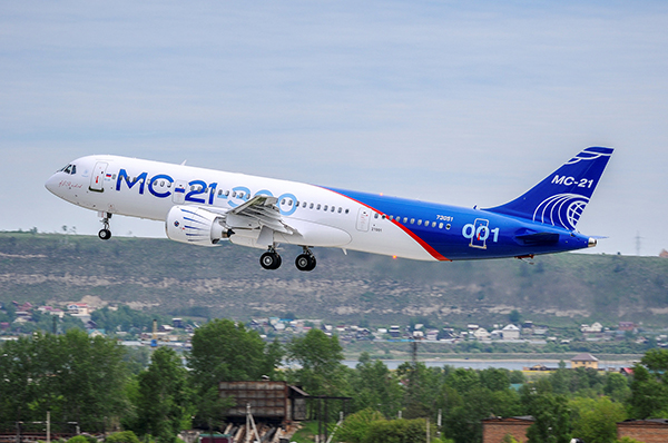 New Russian plane looking for room in global market dominated by Boeing and Airbus