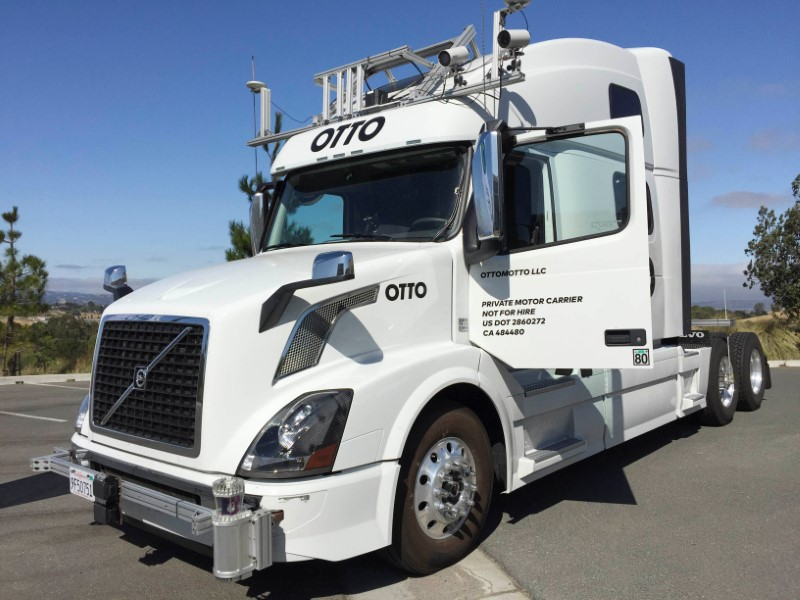 Uber's autonomous truck journey off to a bumpy start