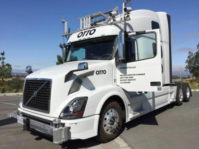 uber otto autonomous truck