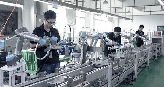 Xiamen installs 64 Universal Robots machines on production line