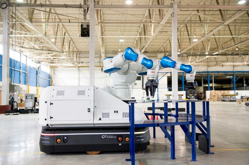 hirotec robotic vehicle