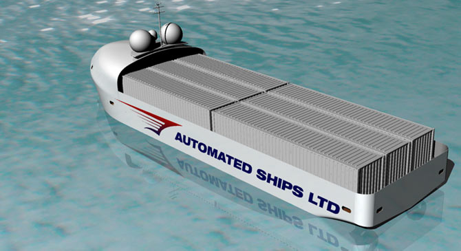 Autonomous sea-going vessels likely to be launched before driverless cars