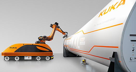 kuka coating robot