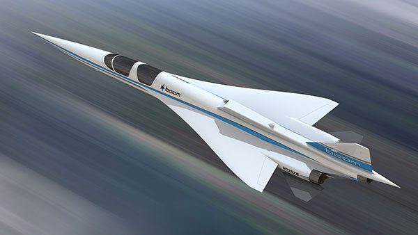 New aircraft manufacturer Boom Supersonic building superfast plane using Stratasys 3D printing systems