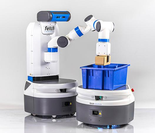 Collaborative robotic arms + autonomous vehicle = a new kind of animal