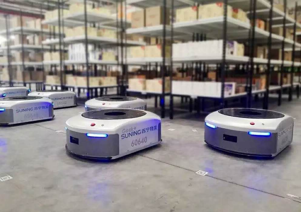 Alibaba to invest $15 billion into robotic logistics infrastructure