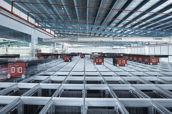 Yusen Logistics launches robotic, automated warehouse featuring Swisslog technology