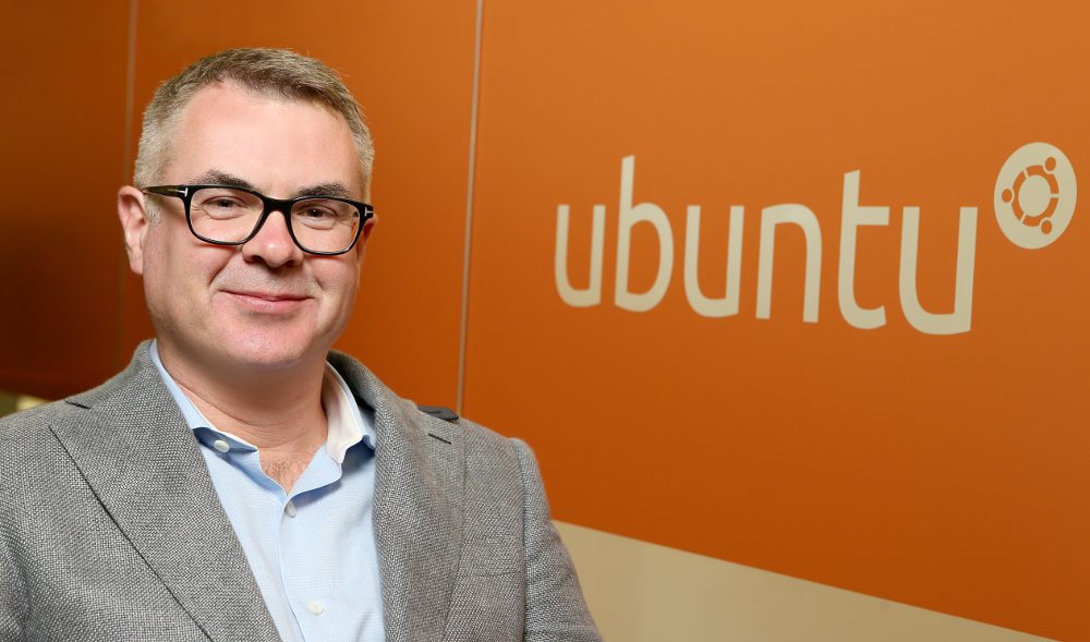 Mike Bell, EVP devices and IoT at Canonical / Ubuntu