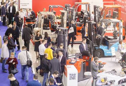 Russian logistics event sees growth in exhibition space and visitor participation