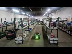 nextshift warehouse robot