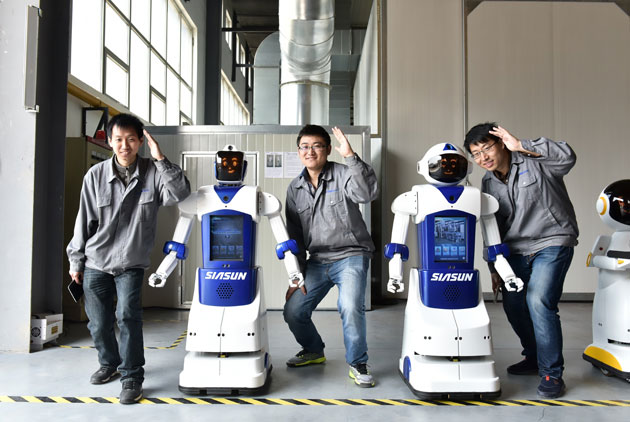 Siasun launches personal assistance robot for elderly