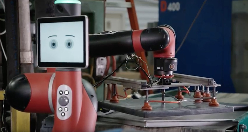 Harrison Manufacturing increases throughput with Rethink Robotics' Sawyer