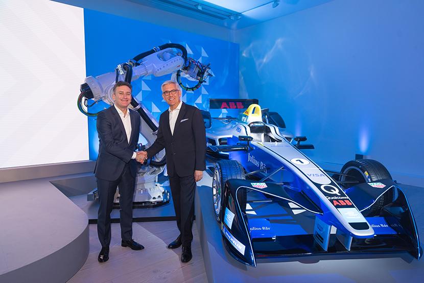 ABB to sponsor Formula E championship