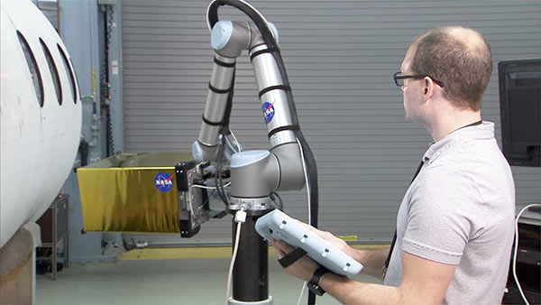 Nasa robotic inspection-UR10