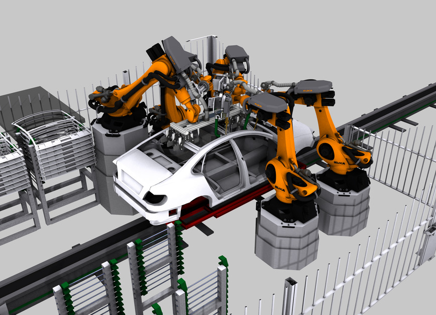 Industrial robot maker Kuka acquires 3D factory design software company Visual Components