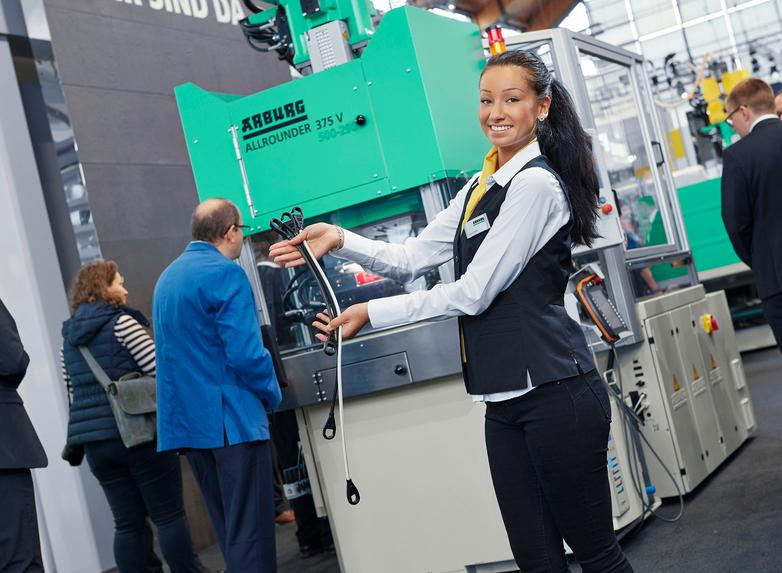 Arburg to show digital transformation in plastics processing at Hannover Messe