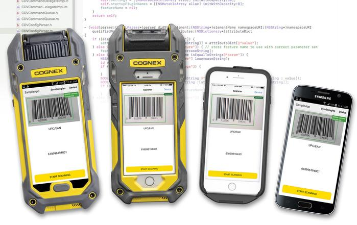 Cognex launches mobile barcode reading range