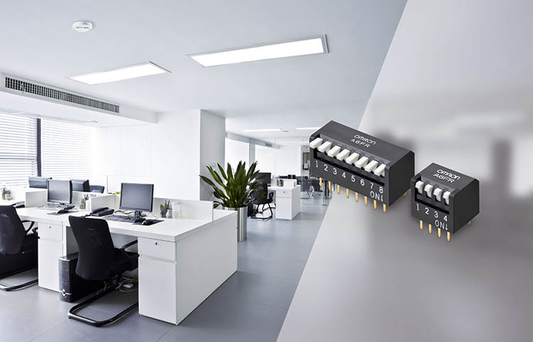 Omron releases new dual in-line package switches