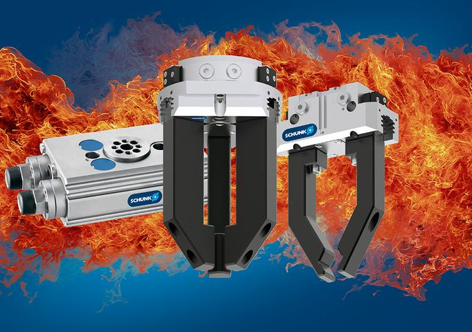 Schunk introduces programmable magnetic switches for gripping systems