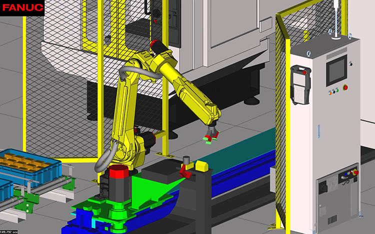 Fanuc launches new robot simulation software RoboGuide