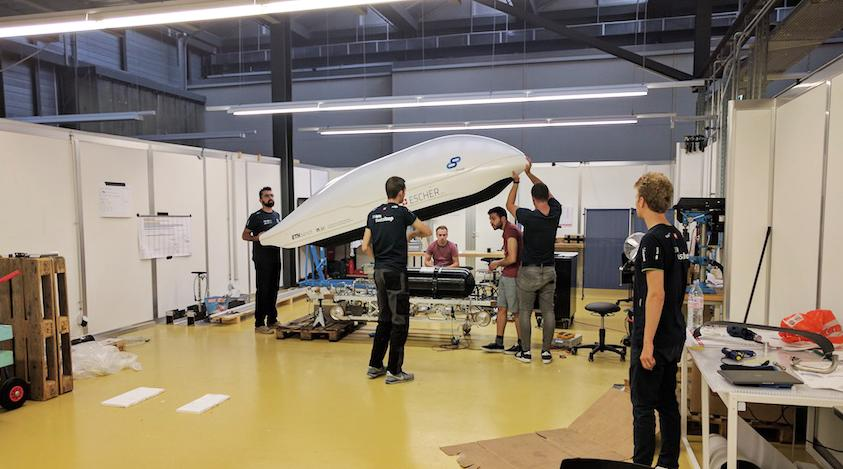 Swiss students through to finals of Elon Musk's Hyperloop competition