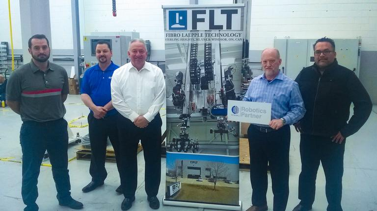 Comau Robotics partners with FLT in Michigan