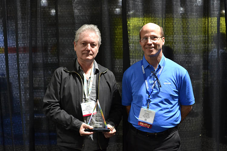 Omron's machine vision technology wins innovators award