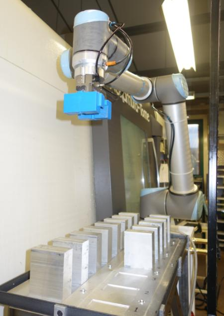 Robots boost profitability at machining company