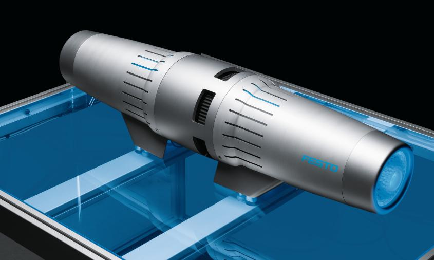 Festo builds 'world's first' superconductive motor