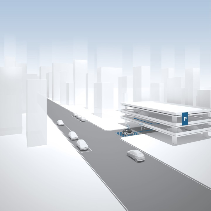 Smart cities: Bosch and e.Go bring free automated parking to Aachen, Germany