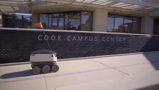 Starship Technologies launches autonomous deliveries on campus