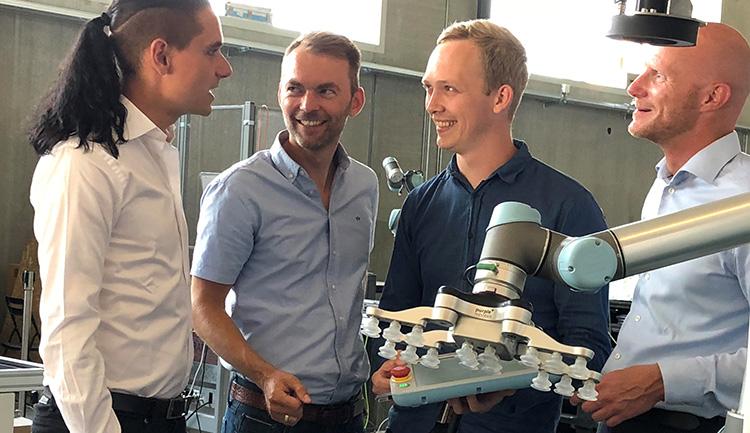 Purple Robotics founders PR10 small