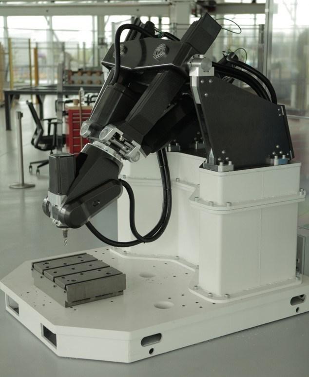 EXECHON-XMINI-Parallel-Kinematic-Aerospace-Robot
