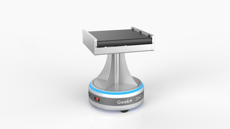 Geek Plus launches 'world's first' interweaving sorting robot for warehouses
