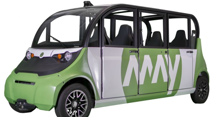 Magna partners with May Mobility to develop self-driving shuttles